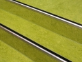 Bodenbelagsarbeiten Linoleum auf einer Treppe
